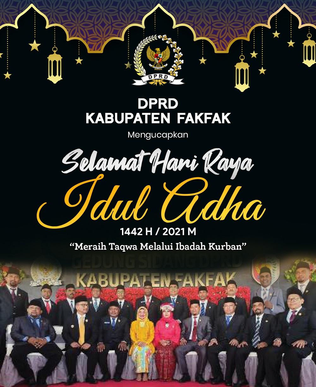 DPRD Fakfak-ADHA 2021